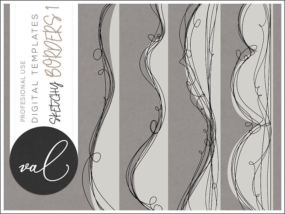 Sketchy Border Templates Vol.1