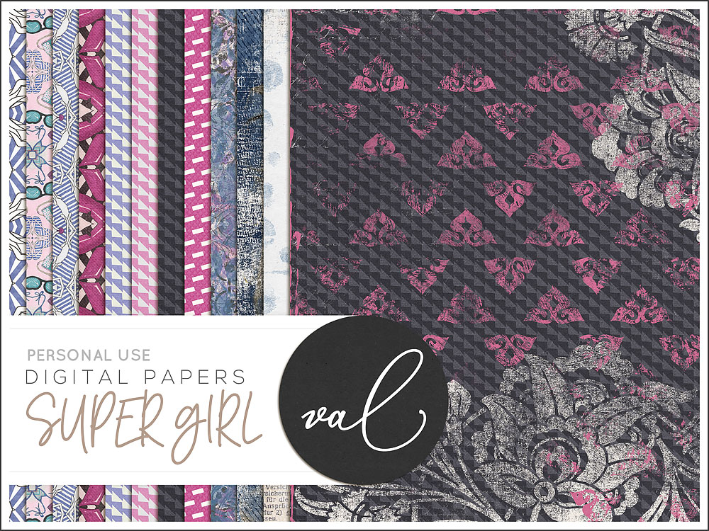 Super Girl {Papers}