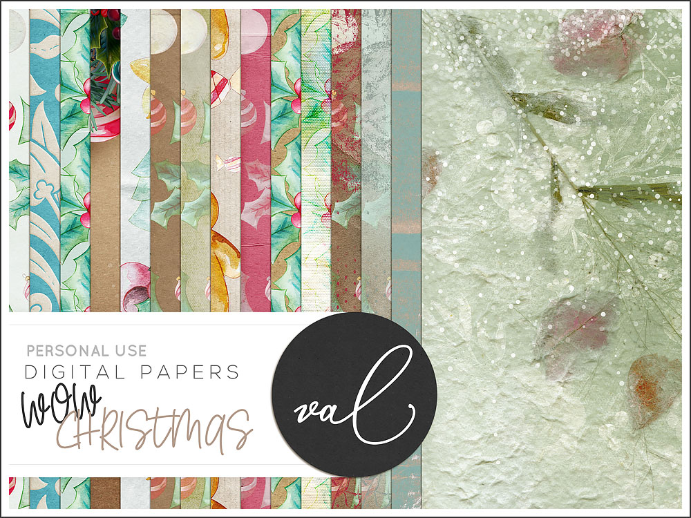 WOW Christmas {Papers}