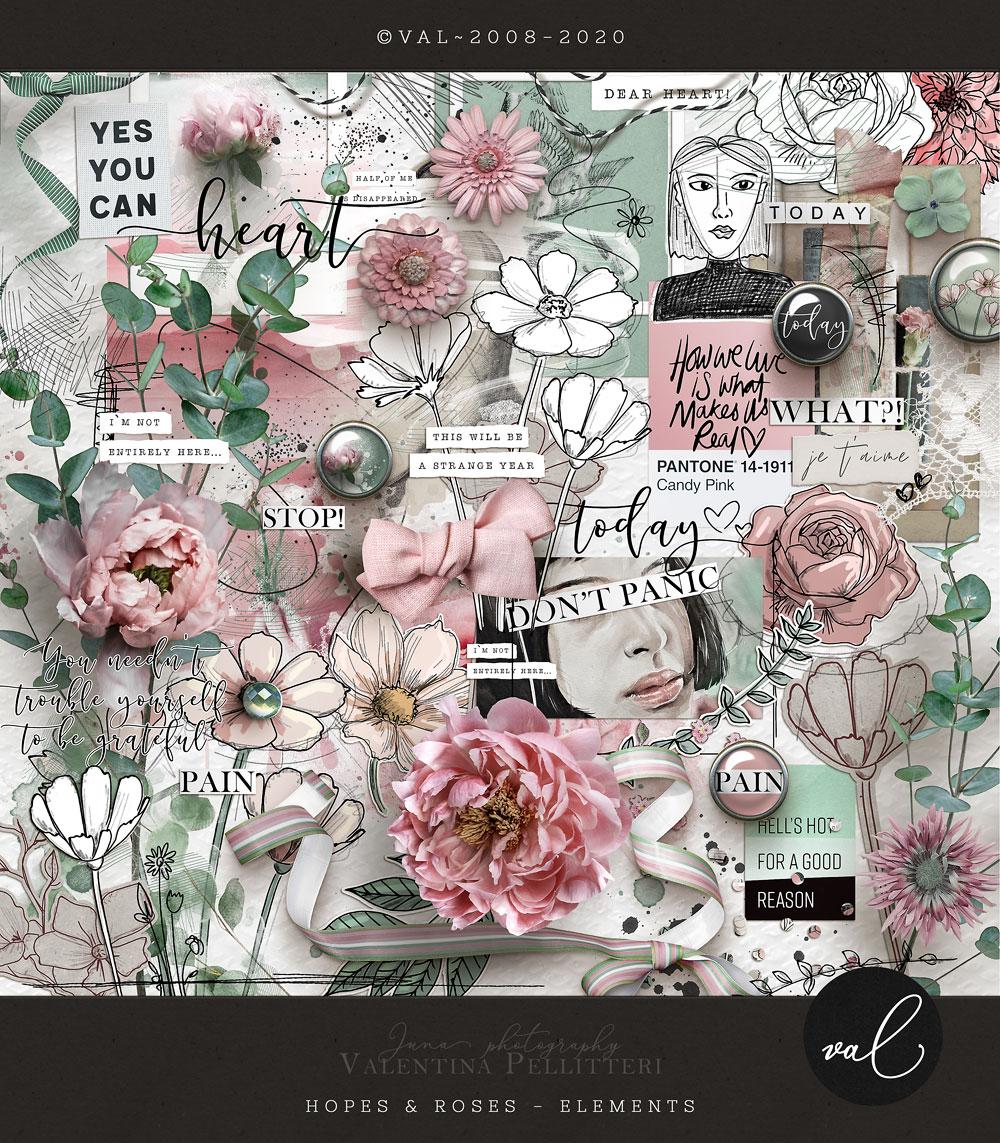 Hopes & Roses {Elements}
