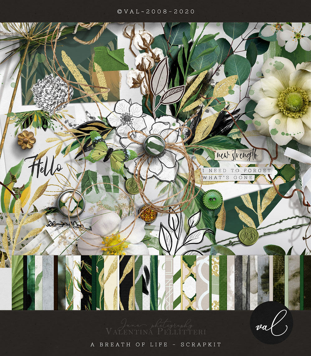 A Breath of life {Scrap Kit}