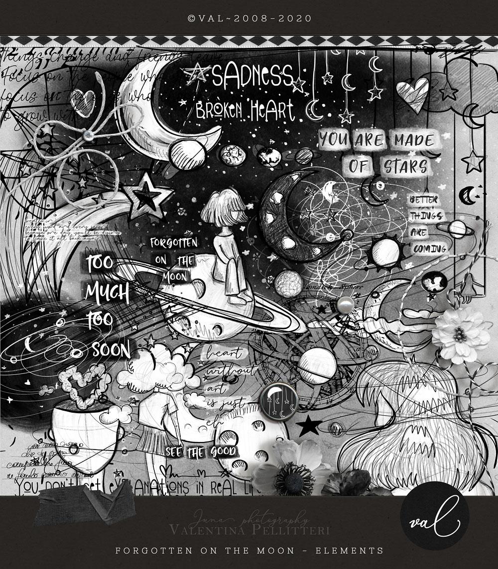 Forgotten on the moon {Elements}