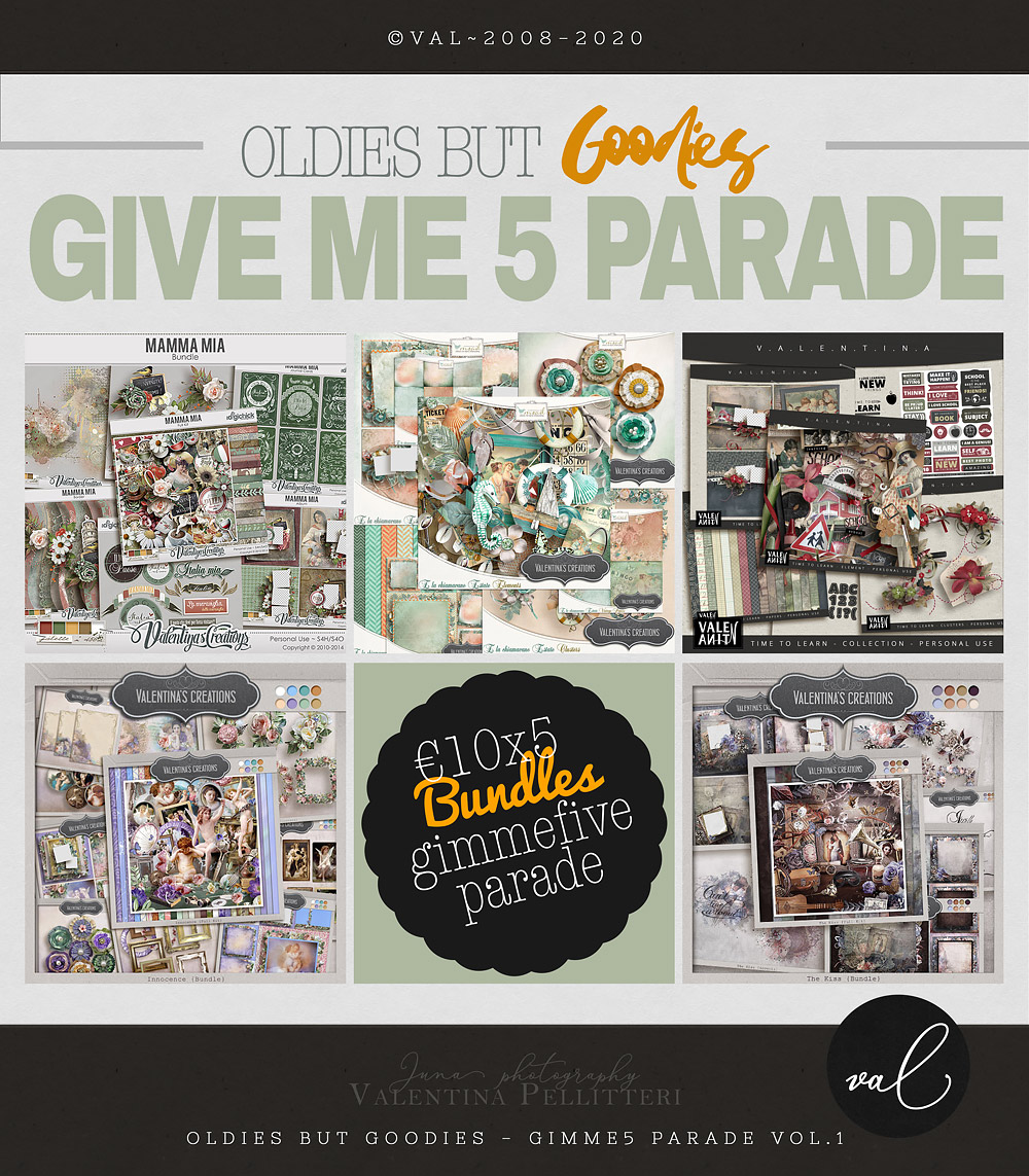 GIMME5 Parade - 10x5 - VOL.1