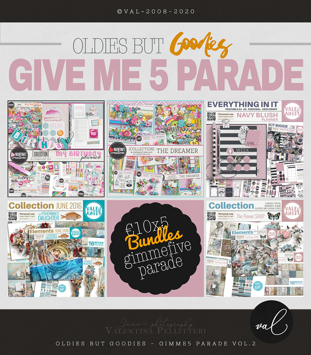 GIMME5 Parade - 10x5 - VOL.2