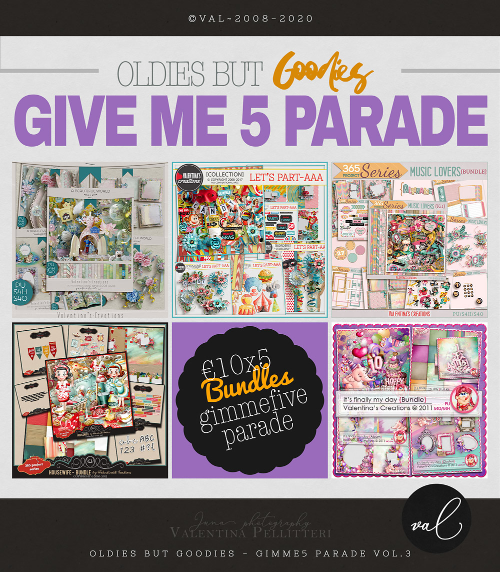 GIMME5 Parade - 10x5 - VOL.3