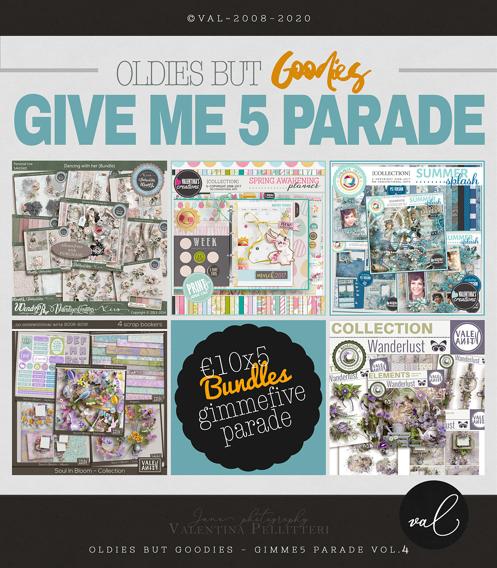 GIMME5 Parade - 10x5 - VOL.4