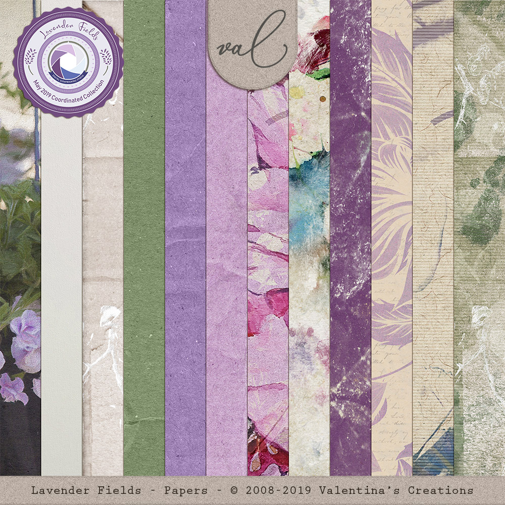 Lavender Fields {Papers}