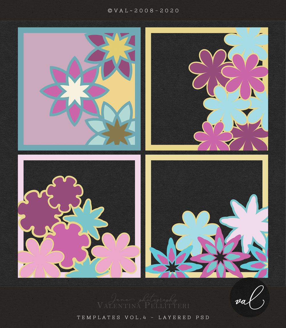Layered Templates 12x12 - Vol.4