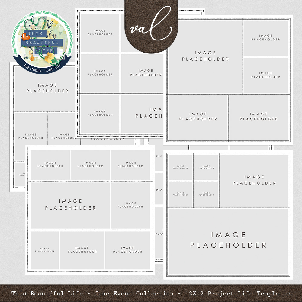 This Beautiful Life {PL Templates}
