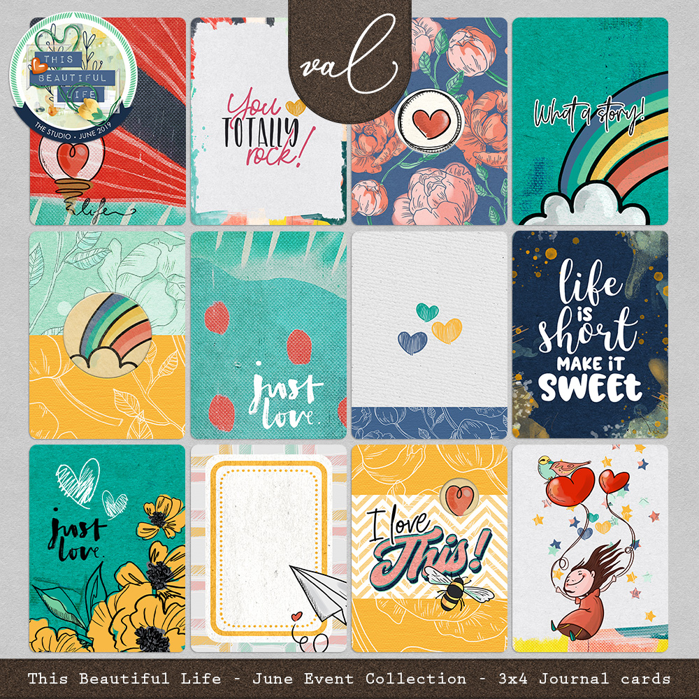 This Beautiful Life {Journal Cards}