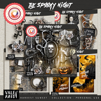 The Spooky Night {Collection}