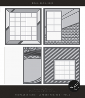 Layered Templates 12x12 - Vol.2
