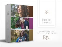 3dLUTS Package - Fall