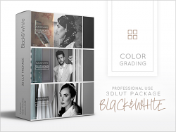 3dLUTS Package - Black & White