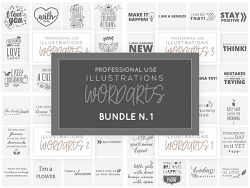 Wordarts - Bundle 1
