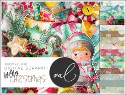 WOW Christmas {Scrapkit}