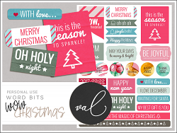 WOW Christmas {Word Bits}