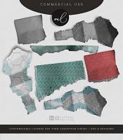 Cardstock Pieces - Layered Templates