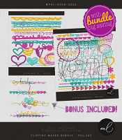 Clipping Masks Bundle vol.2 and 3