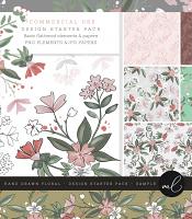 Hand Drawn Floral - Design Starter Pack - SAMPLE
