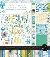Hand Drawn Floral - Design Starter Pack Vol.1