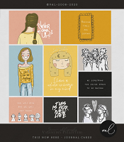 THIS NOW HERE {Journal Cards}
