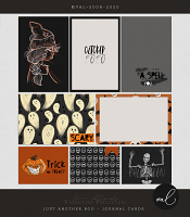 Just another BOO {Journal Cards}