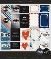 Be Faithful {Pocket Cards} | Collab WendyP Designs & Val