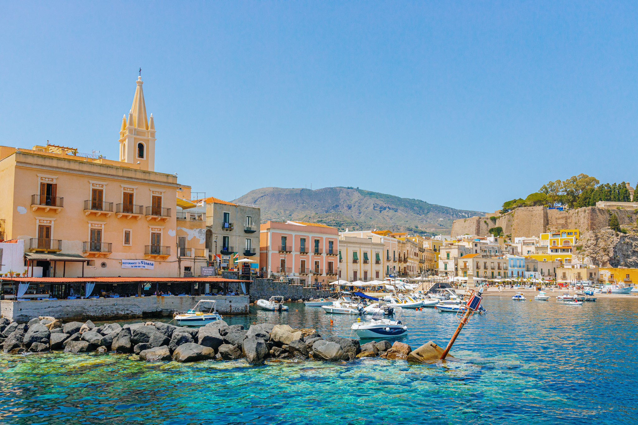Foto reportage alle Isole Eolie